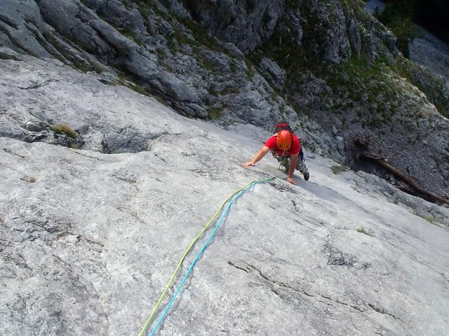 Schneeberg, Stadlwand Durststrecke 630 m (7-)