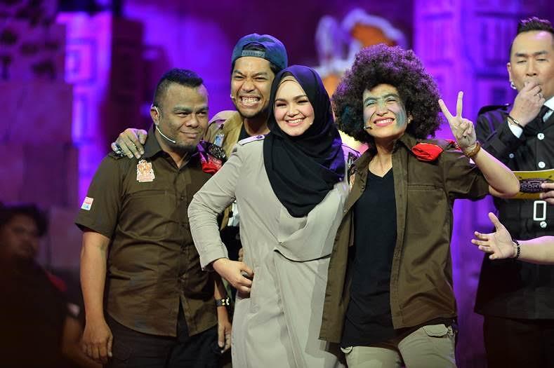 Dato' Siti Nurhaliza & Izzue Islam Gamatkan Super Spontan Superstar