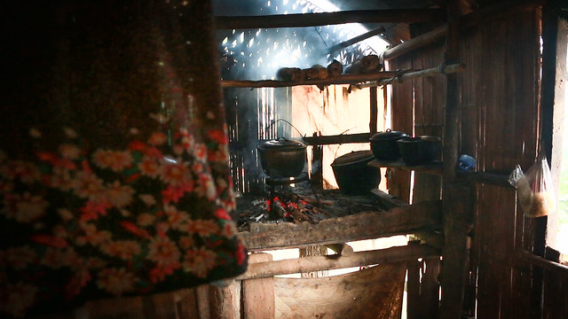 Kitchen of the Banao family