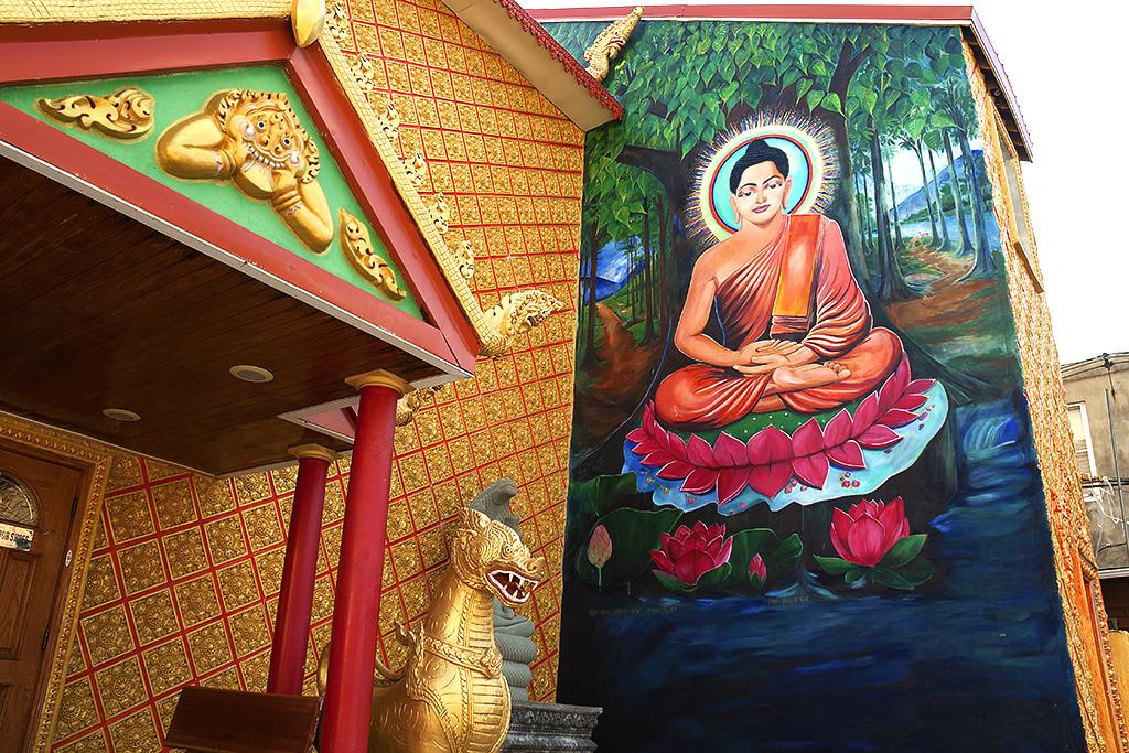 Preah Buddha Rangsey Temple--Little Cambodia