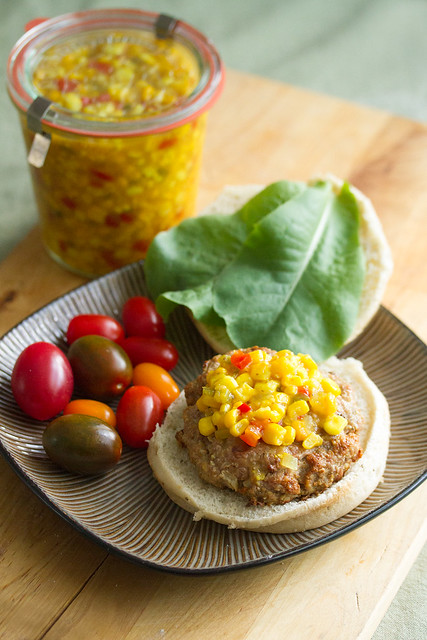 Sweet and Spicy Corn Relish