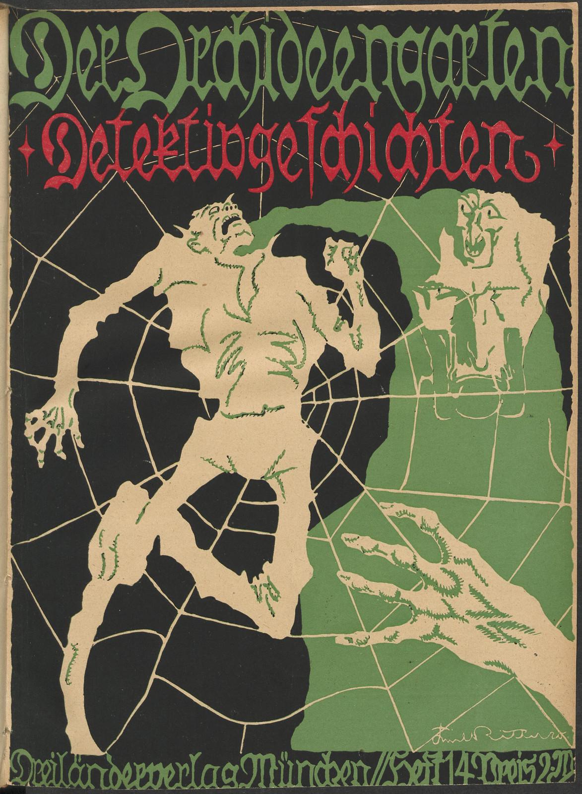 Der Orchideengarten - 1920 (Cover 14)