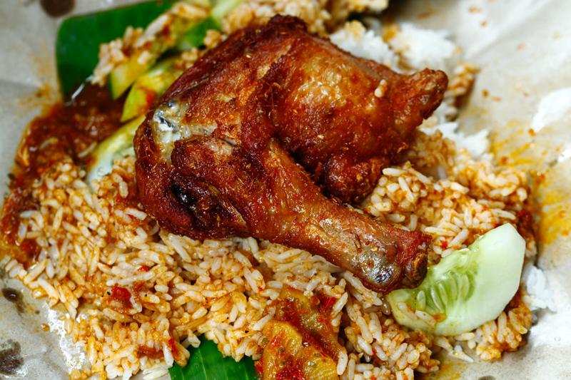 Nasi Kukus Ayam Dara Berempah