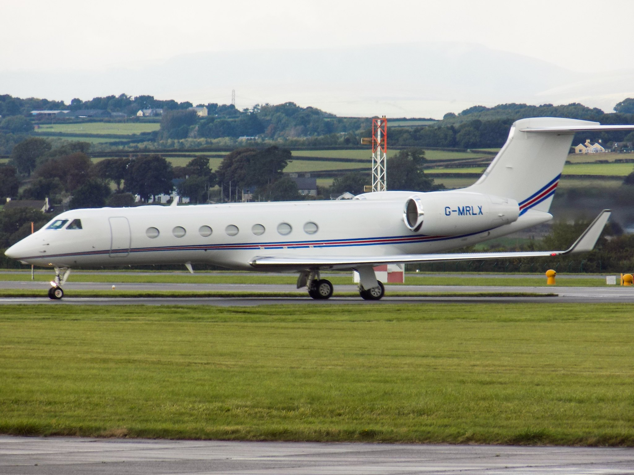 Gulfstream G550 G-MRLX (Angelo Harsmworth)