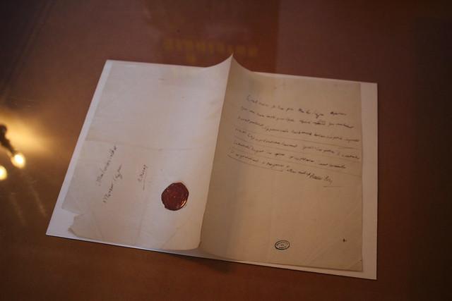 Lettre autographe signée Stanislas Roy - Livre sur la place 2016