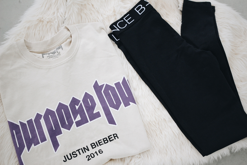 purpose tour merch
