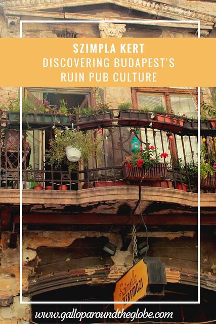Szimpla Kert- Discovering Budapest's Ruin Pub Culture