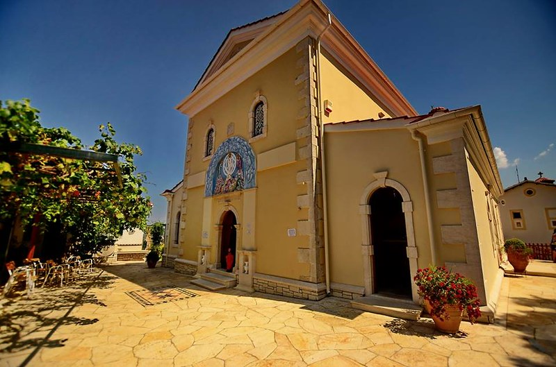 Pantokrator Monastery, Ag. Athanasios Corfu, by Maria Douka