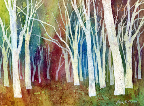 ... Forest I | I just finished a demo for the art club at … | Flickr