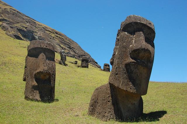 Rano Raraku (Moai Quarry)