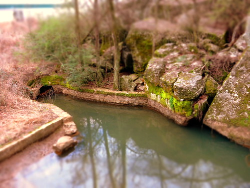 Tilt Shift Miniature effect: Murfree Spring