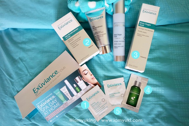 Exuviance 爱思妍05Yuki Ng Skincare Review