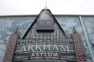 Arkham Asylum RollerCoaster