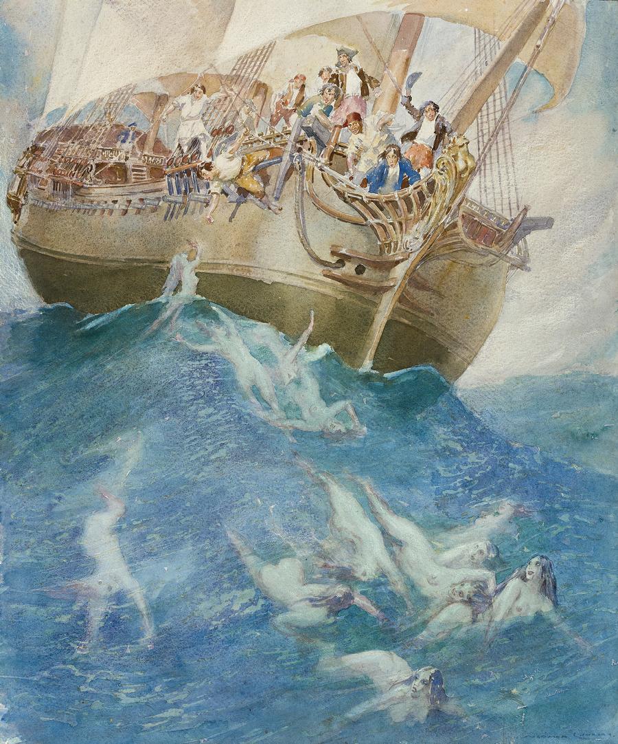 Norman Lindsay - Strange Seas
