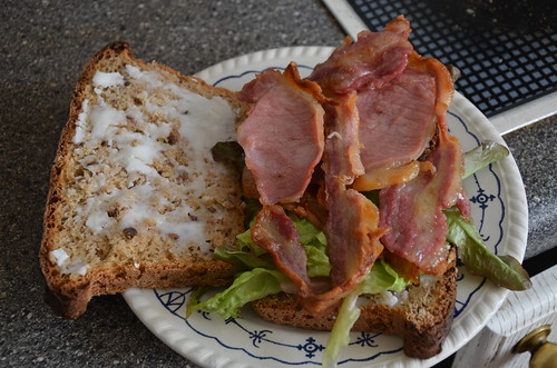 bacon sandwich Aug 16