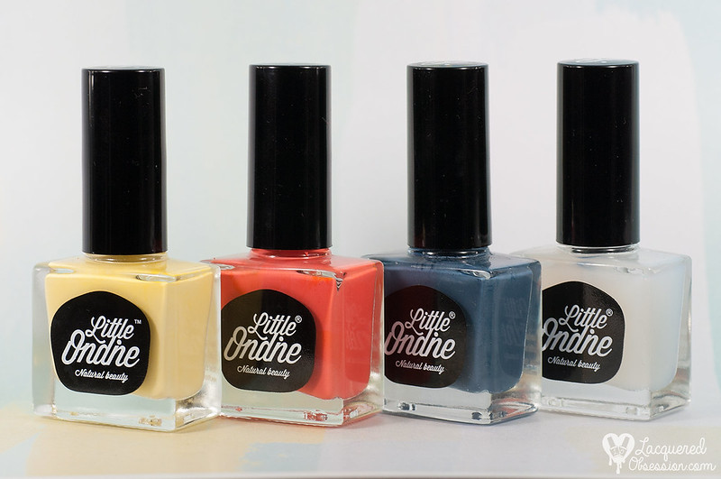 Little Ondine polishes + nail art
