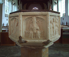 Seven Sacrament font: Holy Trinity