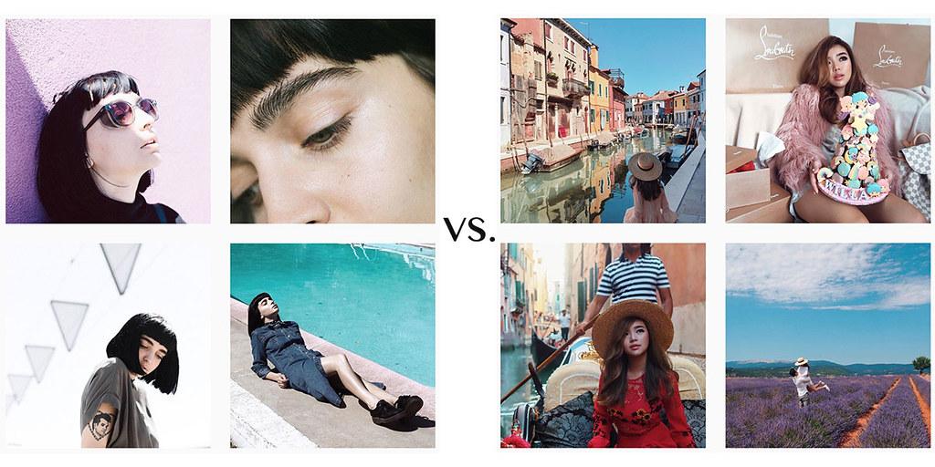 www.fashionartista.com Instagram content tips: Minimalist-vs.-Eclectic