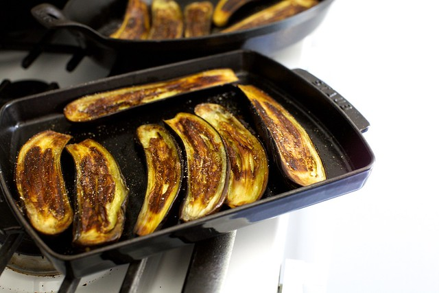 very roasted eggplant
