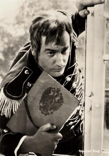 Manfred Krug in Hauptmann Florian von der Mühle (1968)