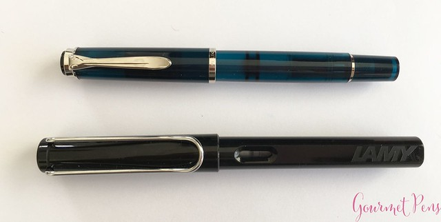 Review Pelikan Classic M205 Aquamarine Fountain Pen Review @AppelboomLaren 5