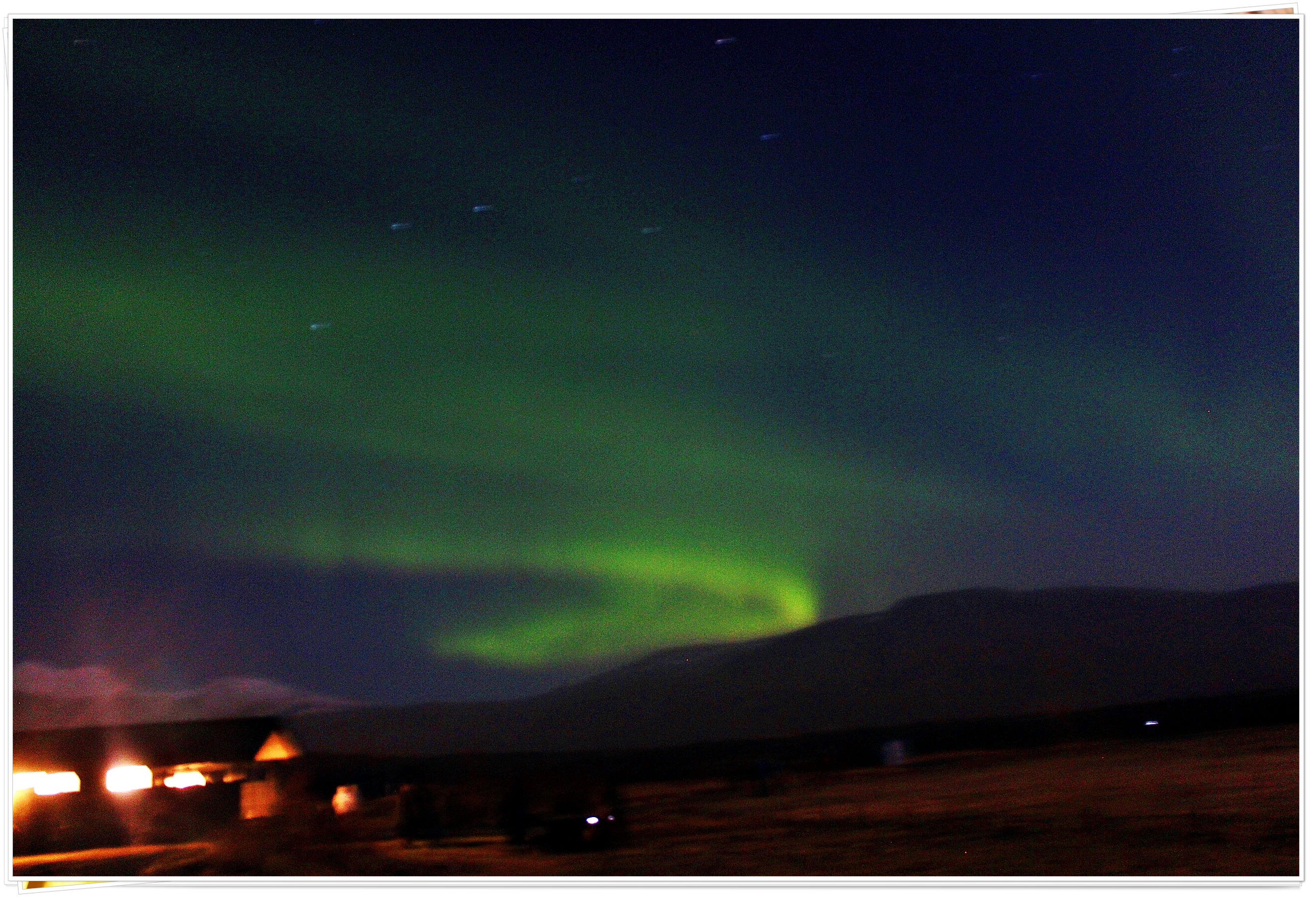 The Northern Lights, Reykjavik, Iceland - Nov 2014