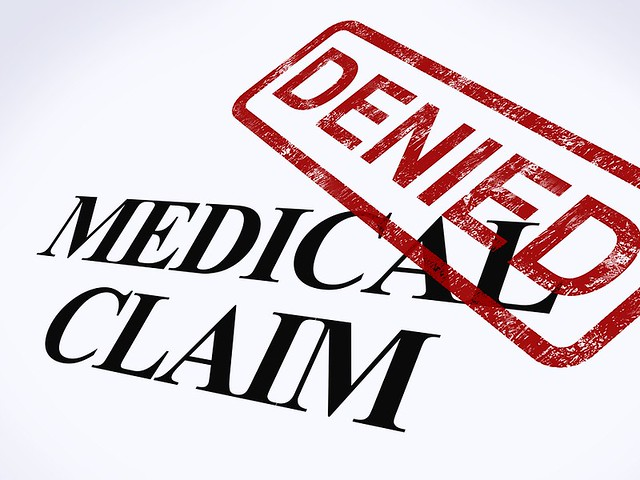 Medical Claim Denied 900x675
