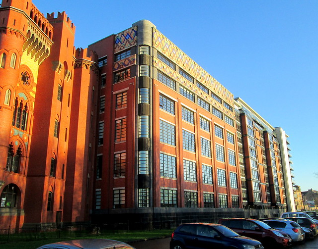 Templeton Carpet Factory, Glasgow East Section