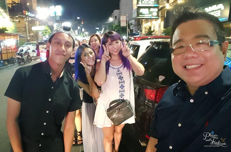 jakarta supper street selfie