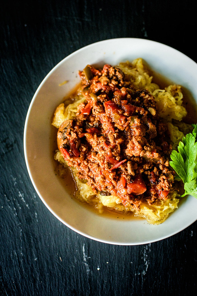 Paleo Slow Cooker Bolognese Sauce Recipe at GirlCarnivore.com