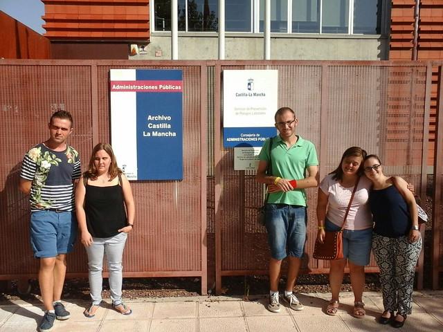 Incorporación becados Futurempleo Caja Rural C-LM (7 de septiembre de 2016)