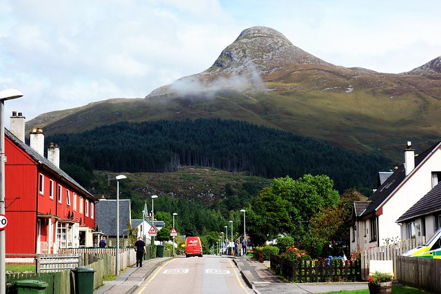 Glencoe Village, Scottish Highlands.