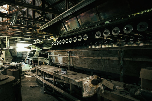Factory abandoned