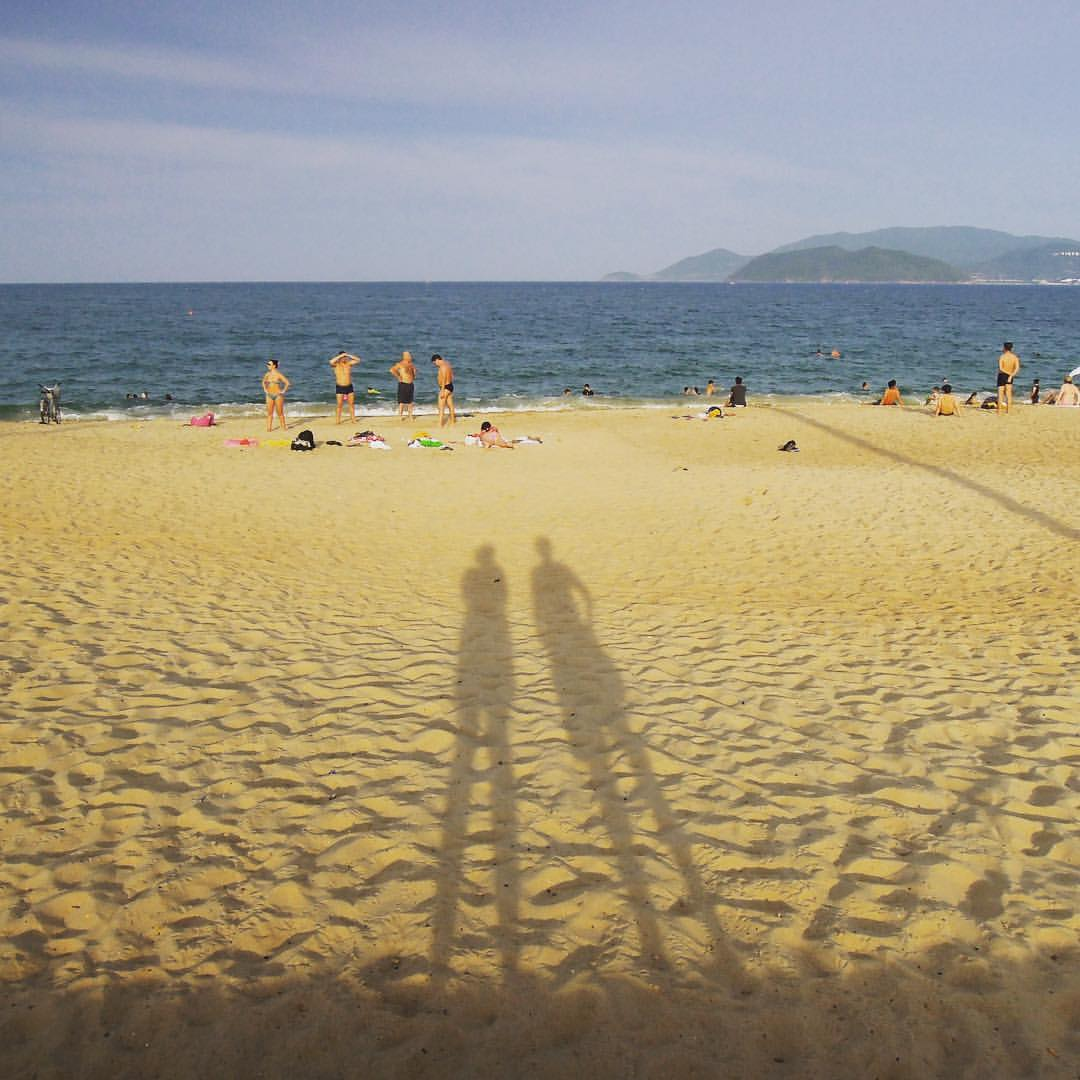 #rtw2012 #32 Ok, time to move on. Next stop: Nha Trang. What to say about Nha Trang? Hmmm, not quite our thing. The beach is pretty, though. #rtw #rtw365 #aroundtheworld #aroundtheworldtrip #maailmanympärimatka #2012 #travelmemories #vietnam #nhatrang #nh