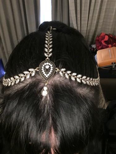 Bollywood Zatana - hair pieces