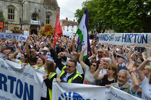 Hands off our horton PROTEST in Banbury