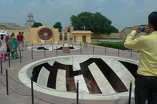 Jaipur - Jantar Mantar sun dials