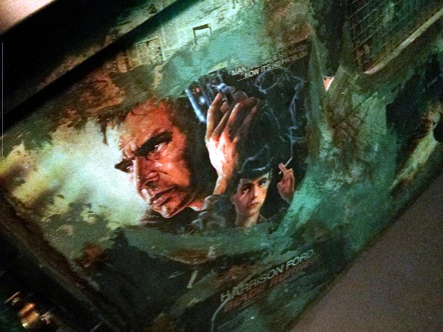 Blade Runner poster, Bar at the End of the World, Paris, France