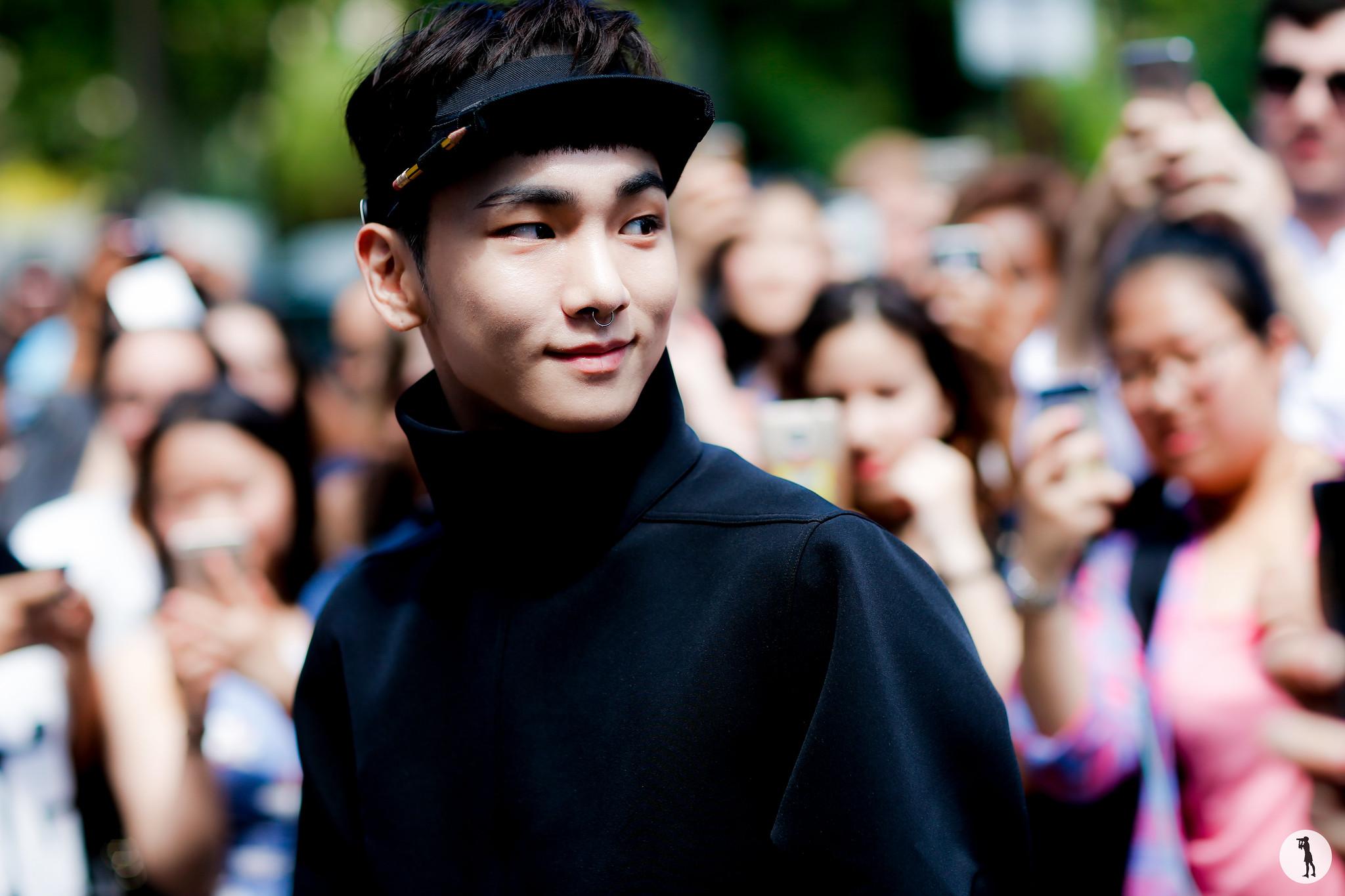 Kim Kibum - Paris Fashion Week Menswear SS17 (1)