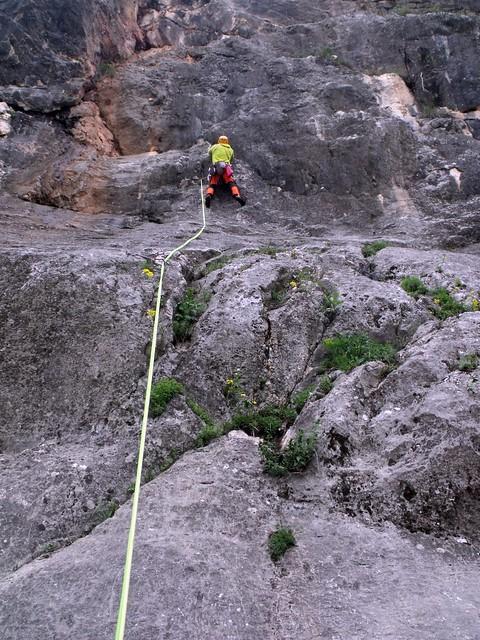 Hohe Wand Superspur 170 m (7-); Schlüsselerlebnis 235 m (7-)