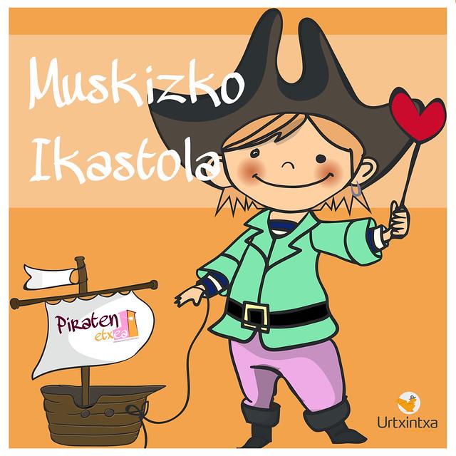 Pirata egonaldia- Muskizko Ikastola 2016/10/24-2016/10/26