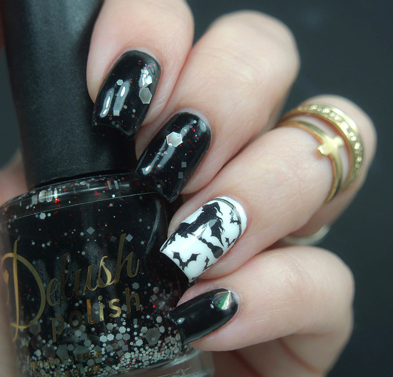 Halloween Nails Milv Water Decals CesarsShop