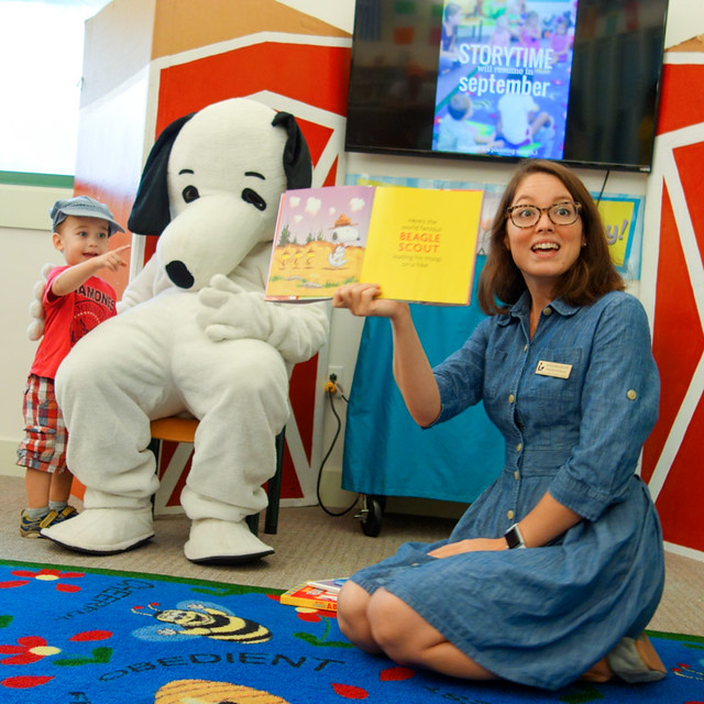 Snoopy Storytime at Southeast