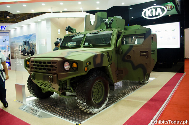 Kia Military Vehicles Pavilion