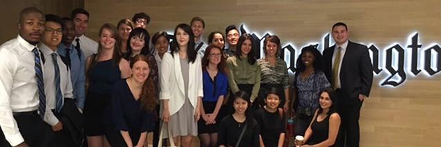 Студенти-журналісти можуть пройти оплачуване стажування у «The Washington Post»