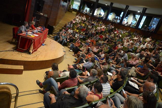 Tercer día universidad de Podemos