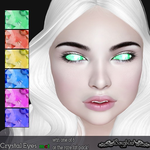 Twisted Crystal Eyes Gacha