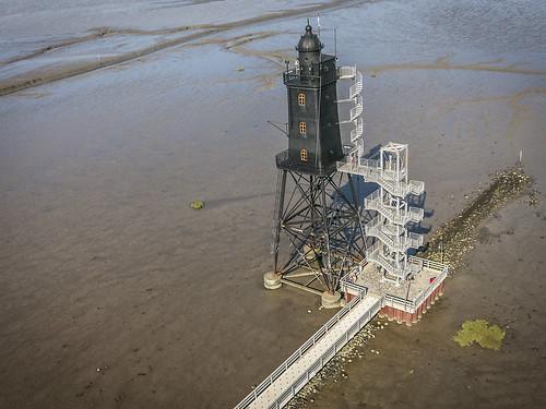 Leuchtturm Obereversand