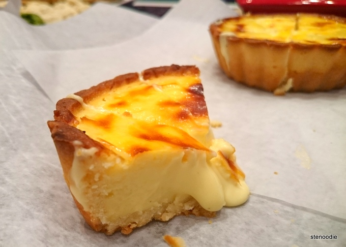 Twice-Baked Rare Cheesetart