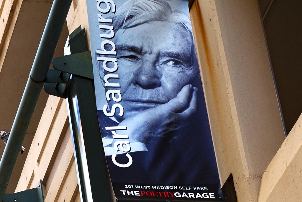 Carl Sandburg--Chicago (detail)